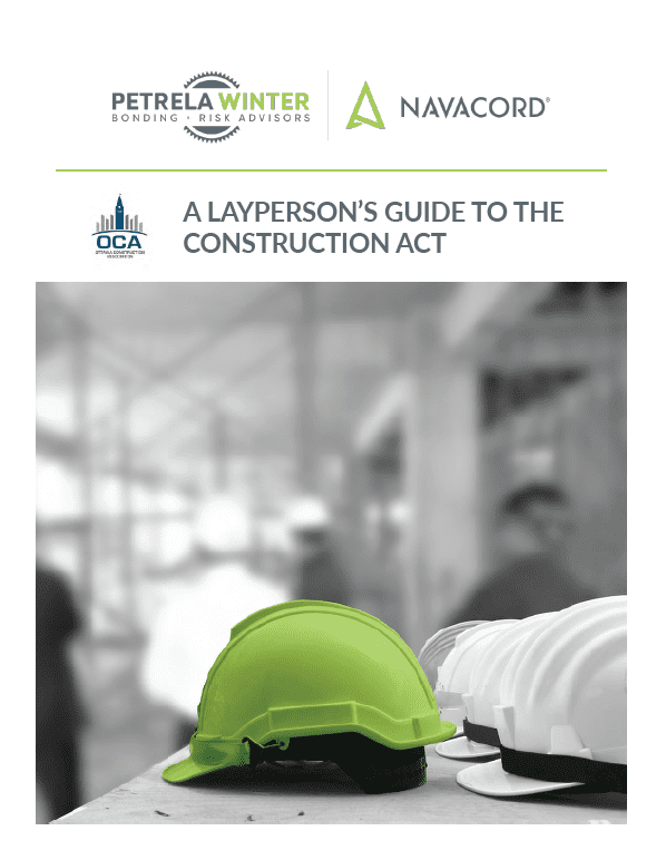 A Layperson's Guide to the Ontario Construction Act