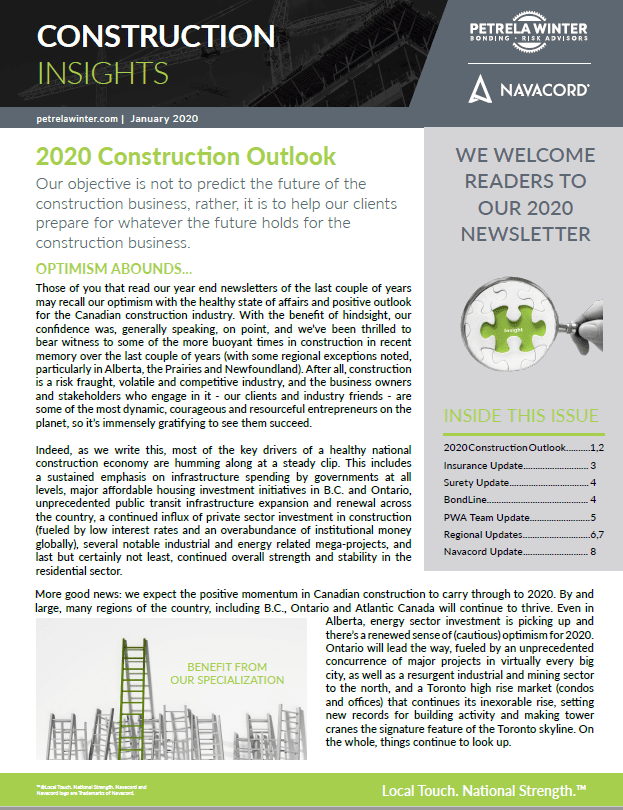 2020 Construction Insights